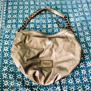 Silver-Gray Handbag